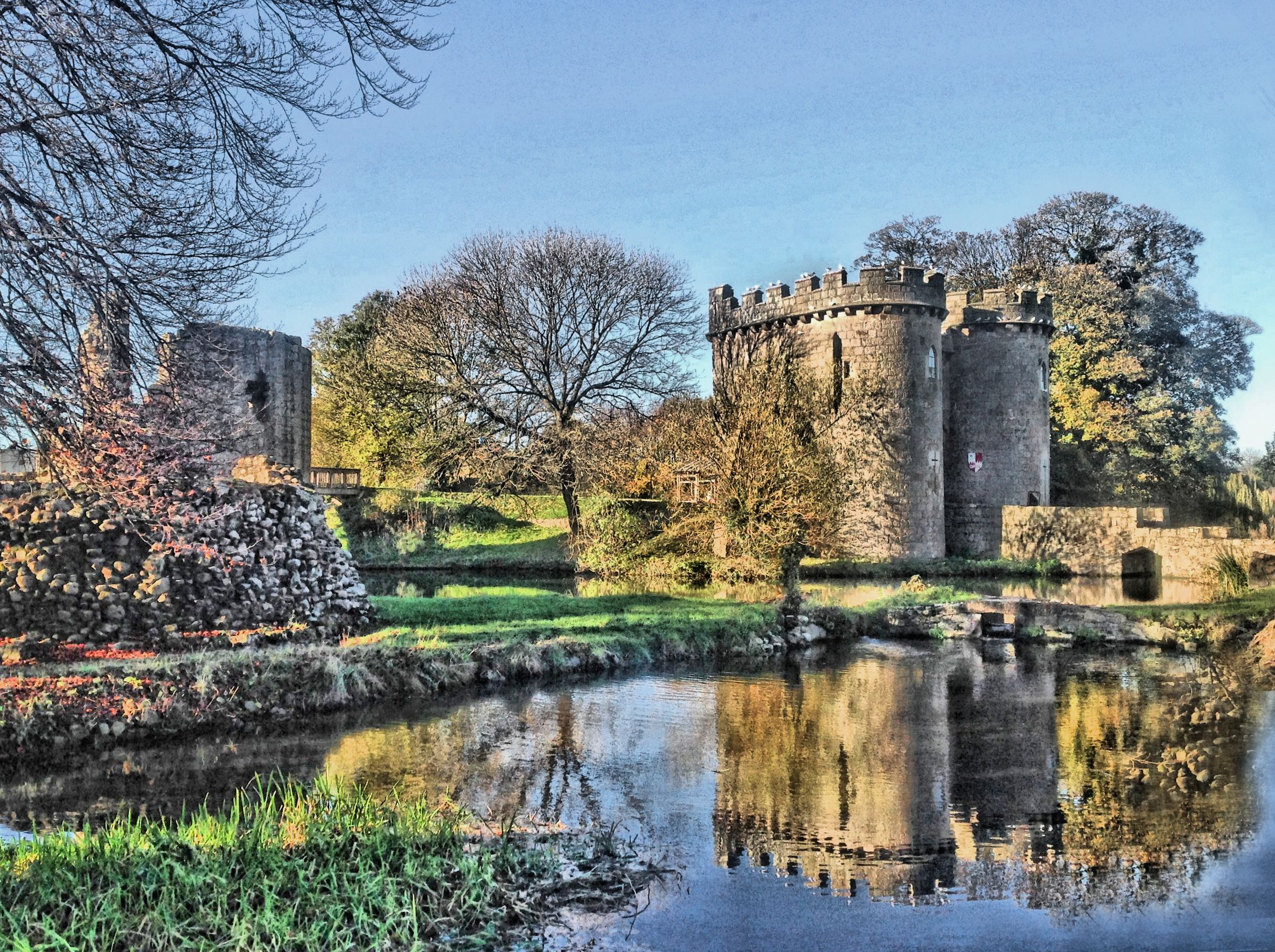 Whittington Castle, Whittington, near Oswestry